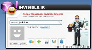 yahoo messenger invisible detection