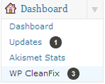 WP CleanFix - WordPress Dashboard