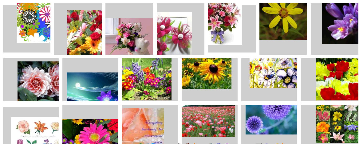 cool google images javascript effect