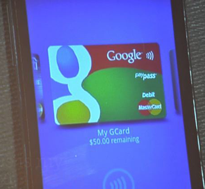 google wallet android phone