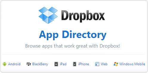 dropbox apps directory