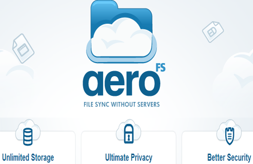 AeroFS – Sync Files without a server
