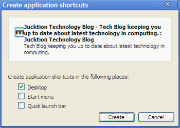 chrome application shortcuts