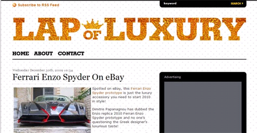 lapofluxury free wordpress magazine theme