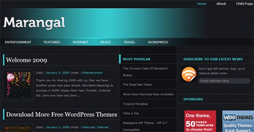 marangal free wordpress magazine theme