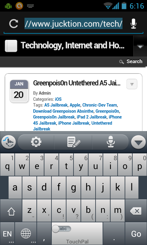 TouchPal Android Keyboard