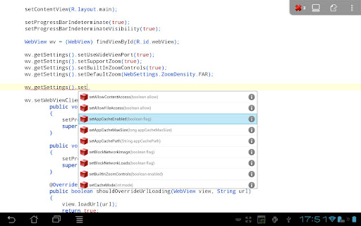 Android Java IDE