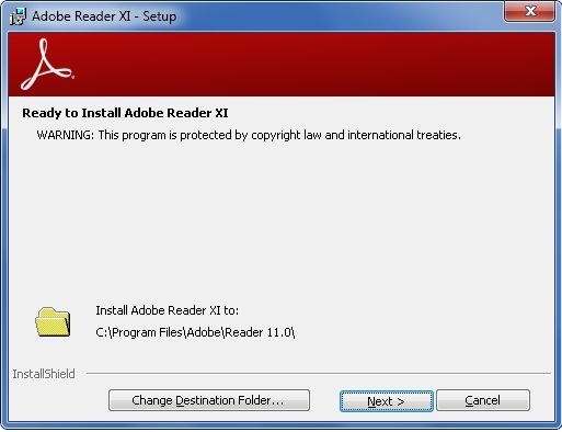 How to deploy Adobe Reader XI to Windows 7