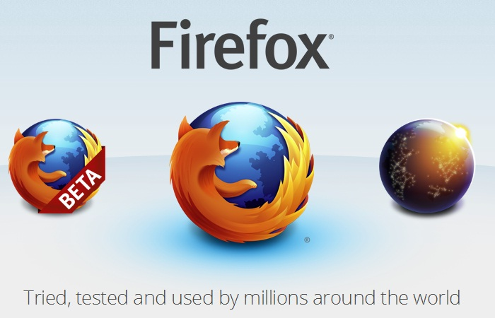 all firefox versions