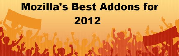 best addons for firefox 2012