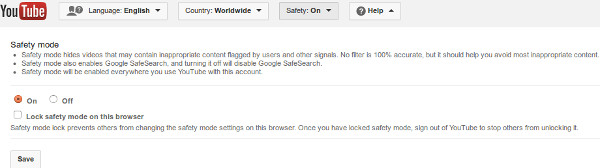 youtube-safety-mode