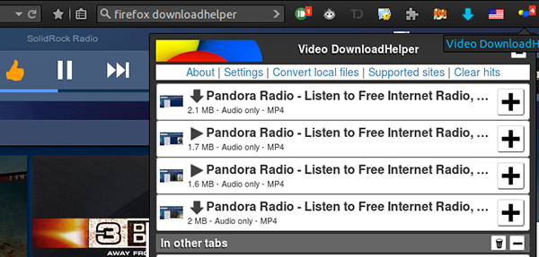 pandora download music