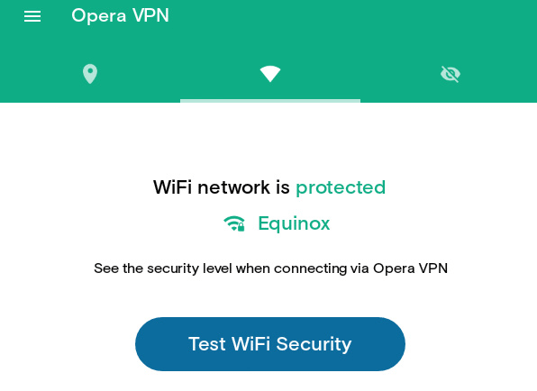 Opera-VPN-Connection-On