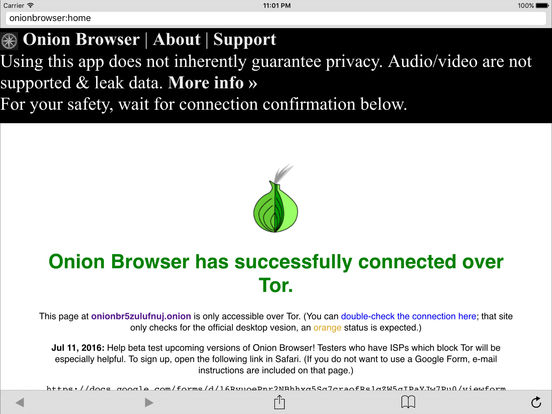 free tor browser iOS screen