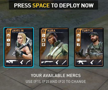 DirtyBomb Shooter Game Mercs In-game