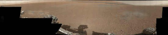 Gale Crater of Mars 360 Panorama