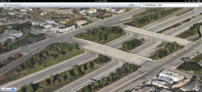 apple ios6 maps mistakes