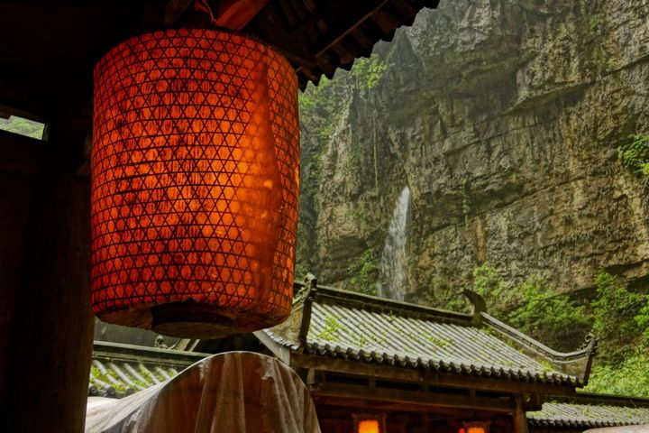 A chinese lamp