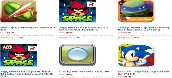 Amazon Ultimate Game Apps for Android Giveaway