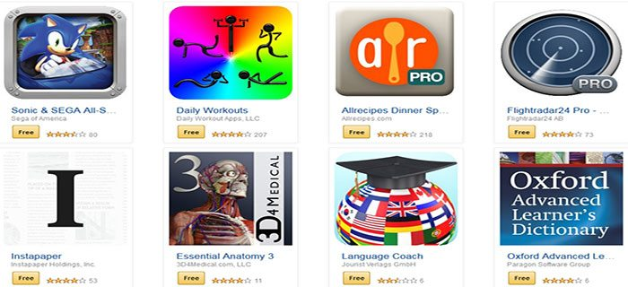 apps free from amazon