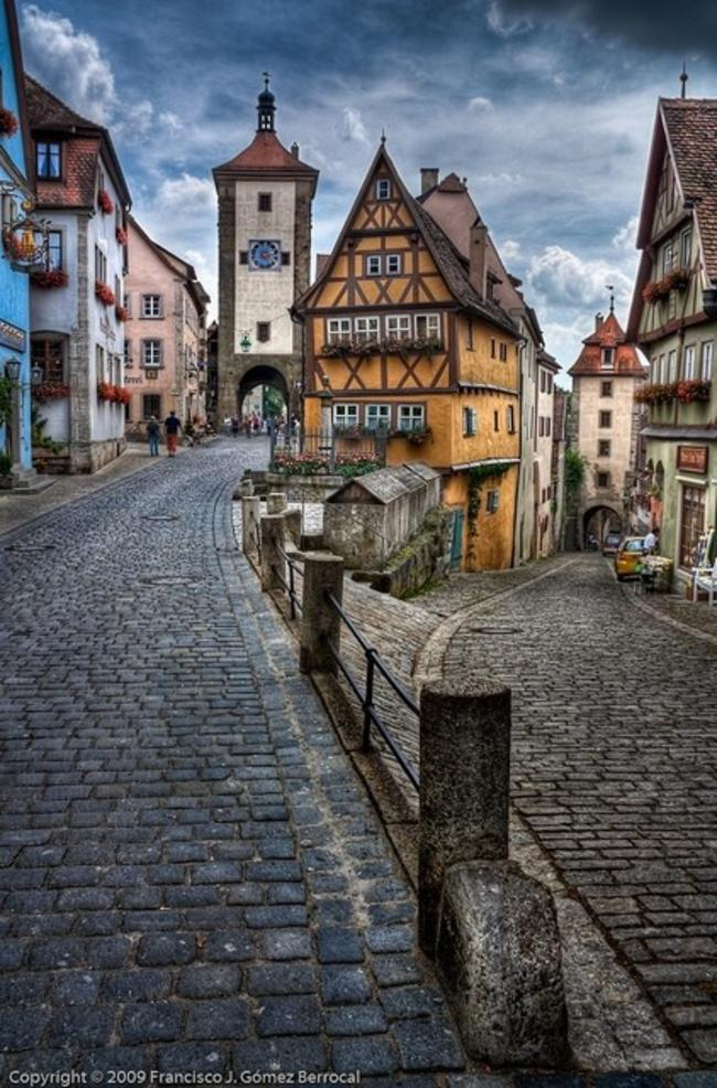 Surreal spots: Rothenburg ob der Tauber