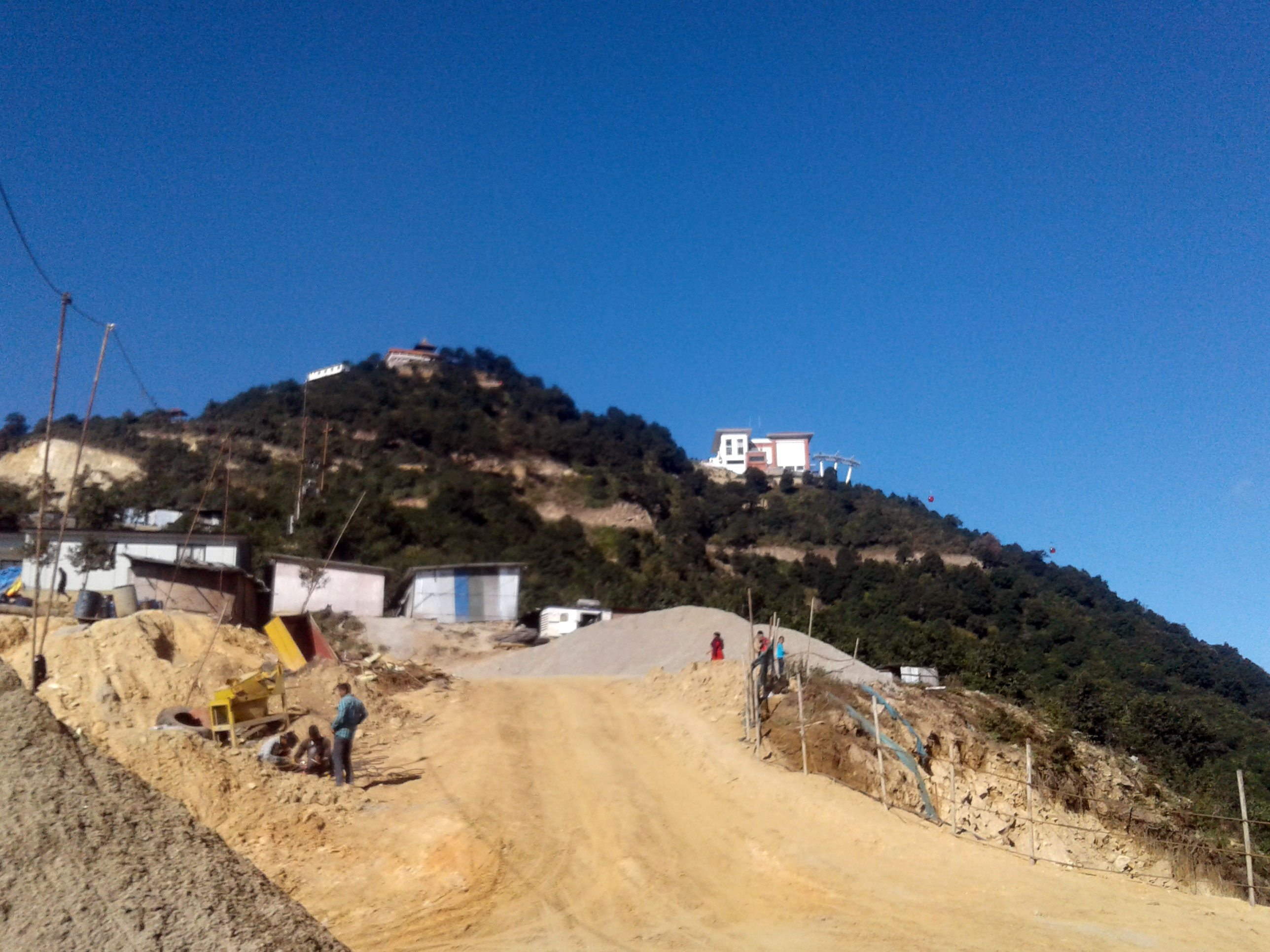 Chandragiri eastern hiking trail