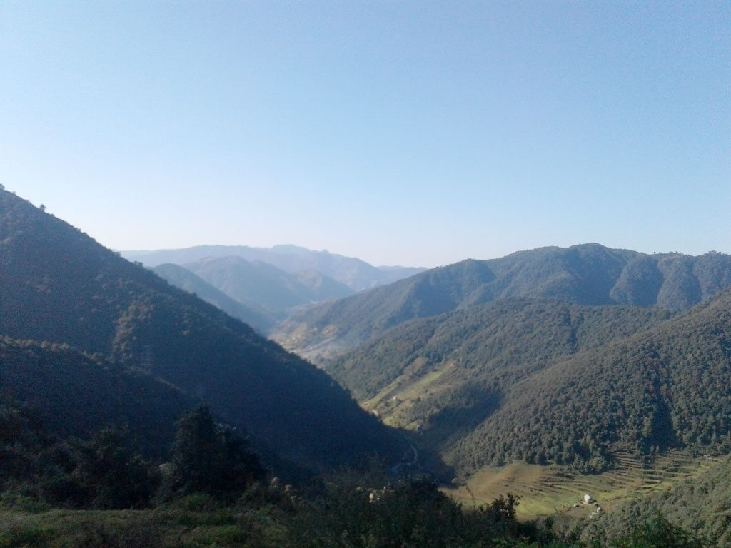 Chandragiri hill southern view