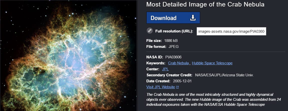 NASA-image-and-description-of-crab-nebula
