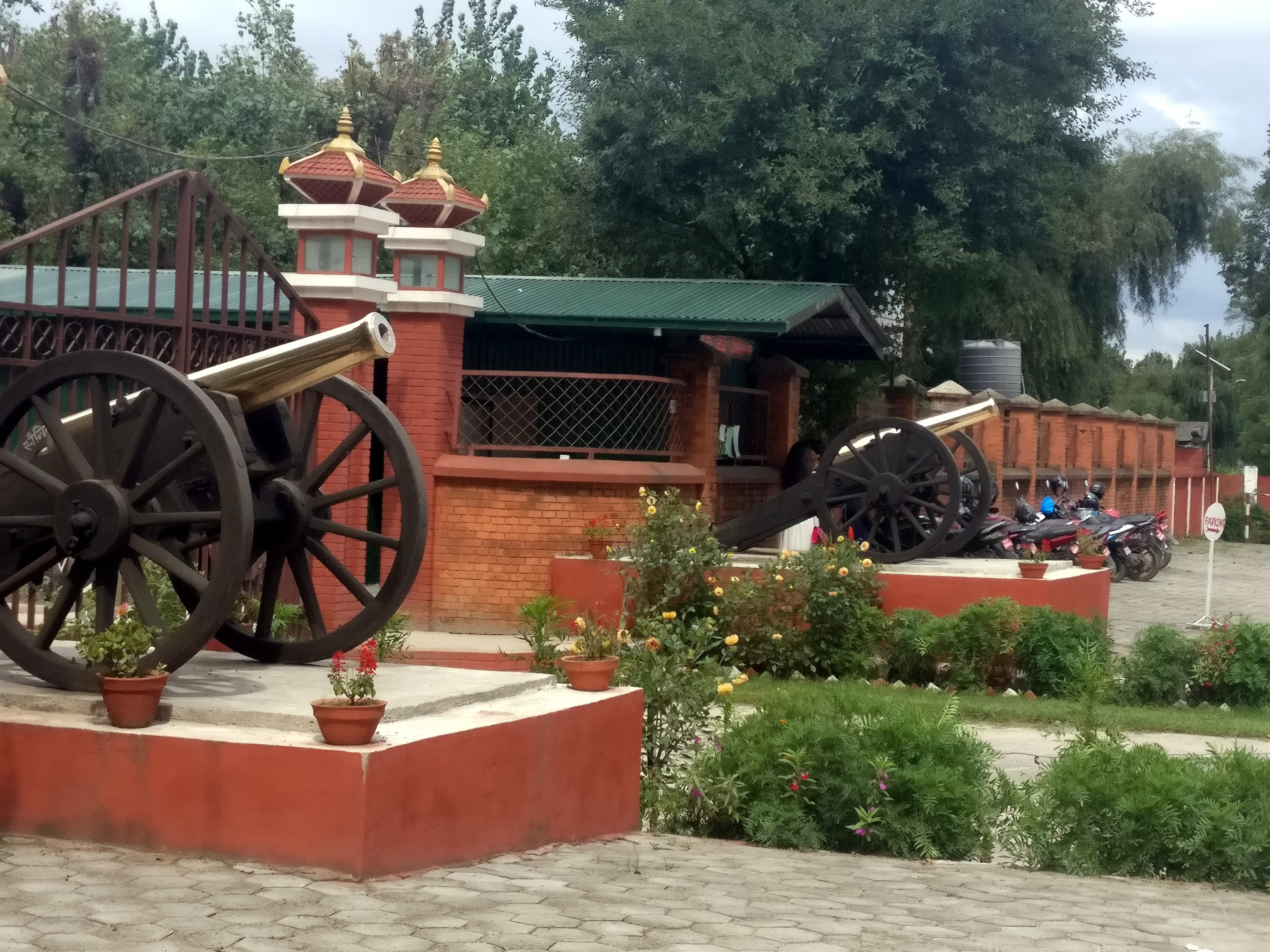 Entrance to Nepal Military Museum