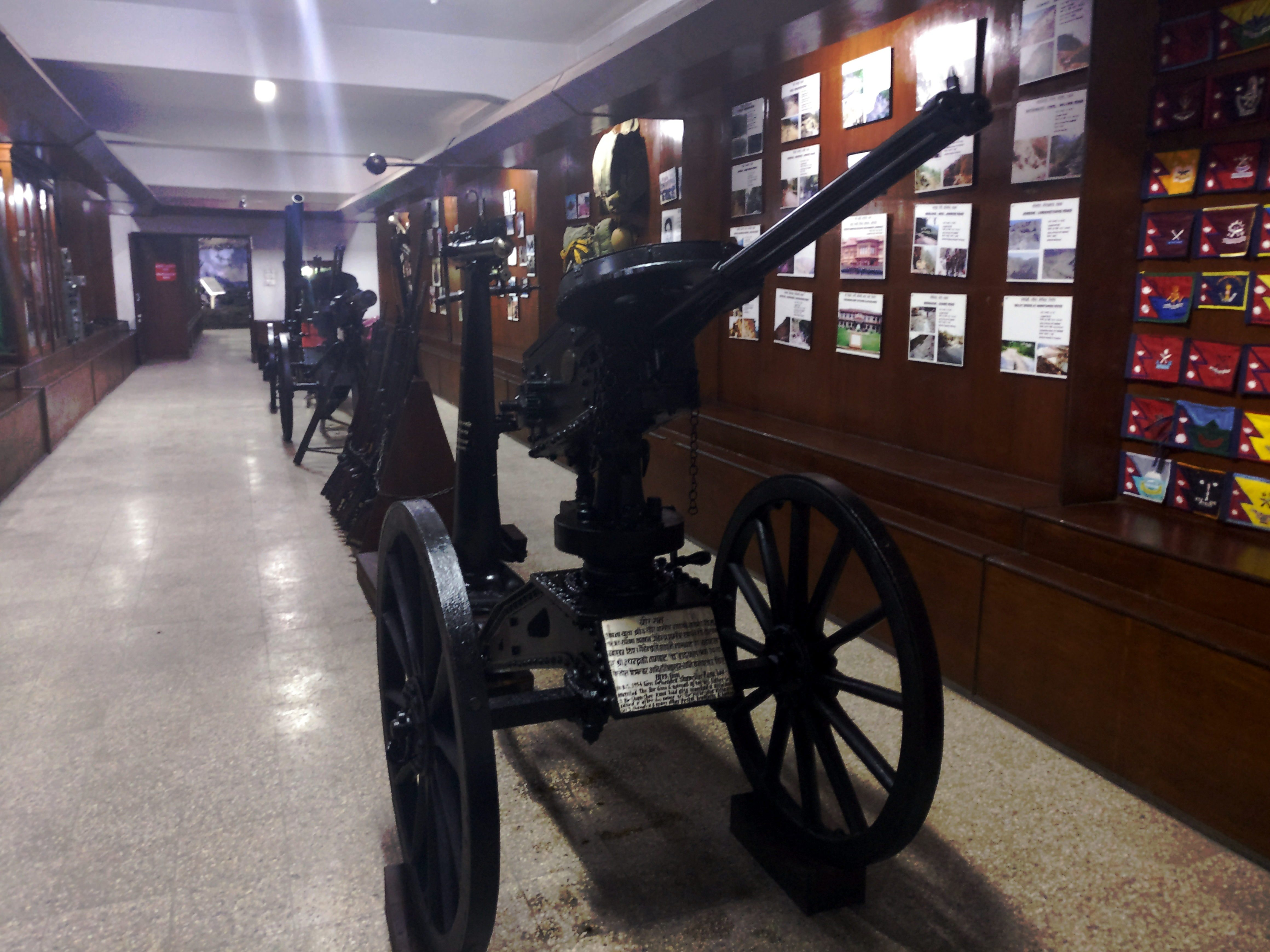 allway Cannons display