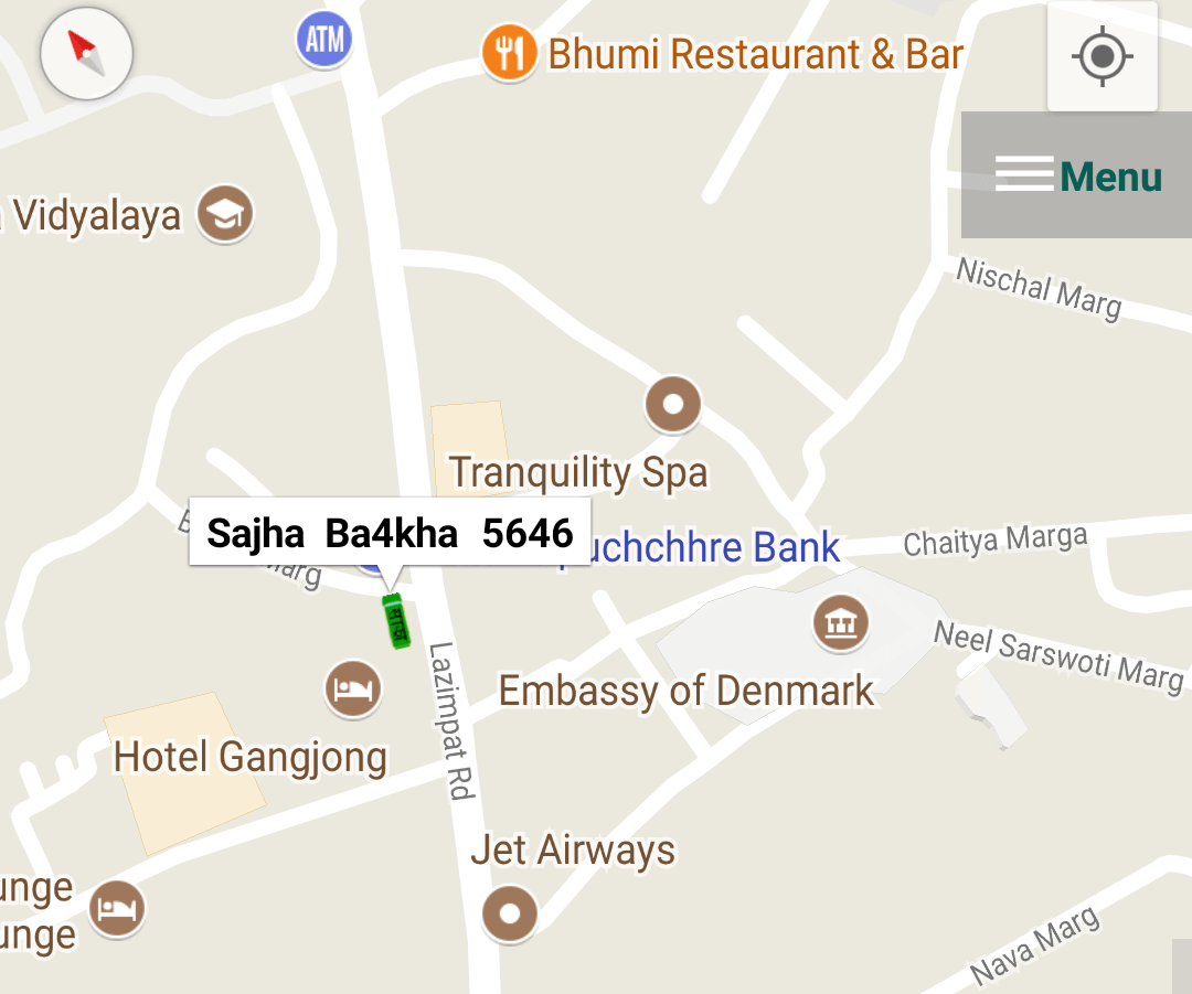 track sajha bus route location