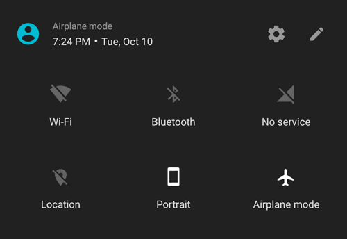 airplane mode battery saver