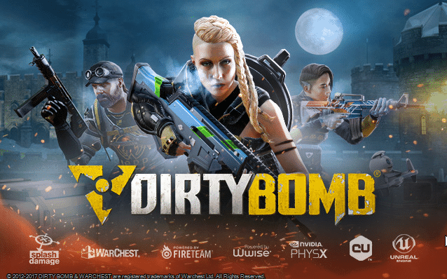 DirtyBomb Shooter Game