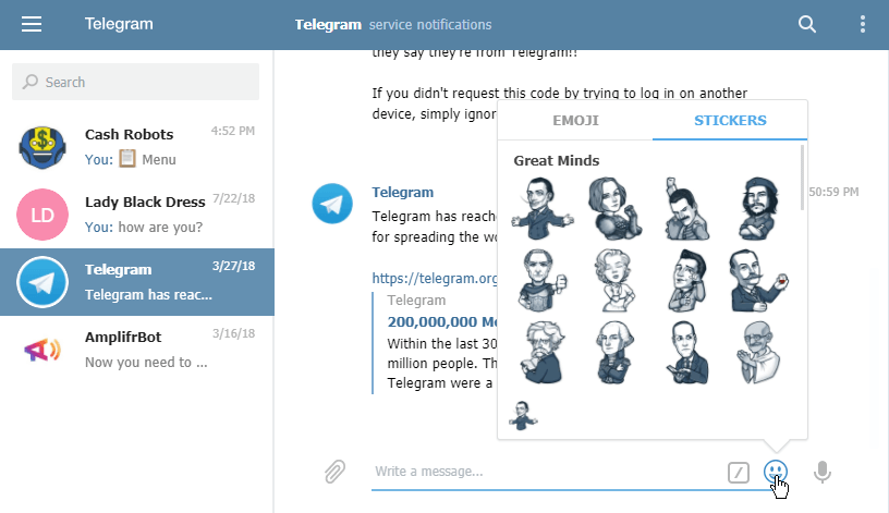 Telegram Web App